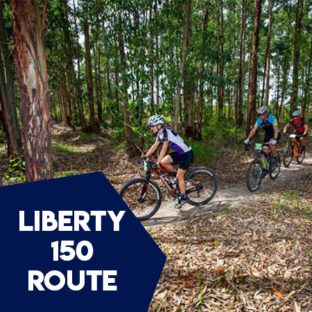 LIBERTY-150-Route profile