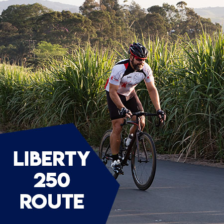 LIBERTY-250- route profile